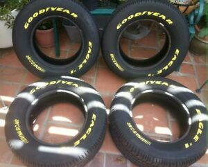 Goodyear Eagle 1 Nascar Yellow Letter Tires 255 60 15