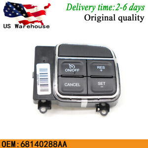 Cruise Control Switch 68140288aa For Jeep Wrangler Dodge Ram Chrysler 2011 2015