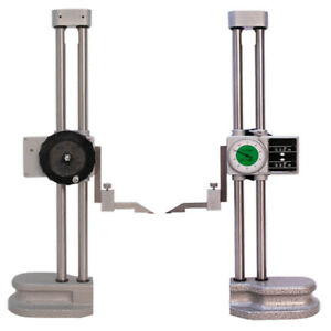 Precision Double Dual Beam 18 Dial Height Gage Gauge 001 Digital Counter