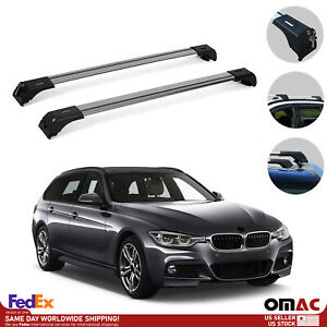 Roof Rack Cross Bars Luggage Carrier Silver For Bmw 3 Series F31 Wagon 2012 2019