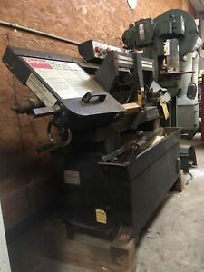 Dayton 9x16 Horizontal Band Saw Model 4yg31