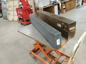 Starrett Granite A Grade 3 x8 x47 With Custom Box New Calibration Free Shipping