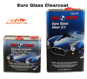 Euro Glass Clear Coat 5ltr 2 5ltr Act 2 1 Mix Car Vehicle Automotive Kit