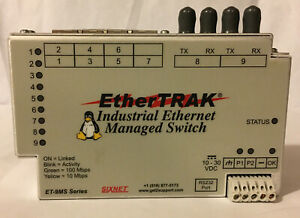 Ether Trak Et 9ms Industrial Ethernet Real time Switch