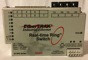 Ether Trak Et 9rs Industrial Ethernet Real time Switch