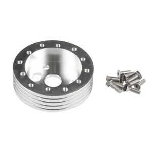 Silver 1 Steering Wheel Hub Adapter Spacer 6 Hole To Fit Grant Apc 3 Hole
