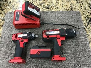 Snap on 1 2 Drive 18v Li 3 8 Drive Cordless Impact Wrench Ct8810a Ct7850