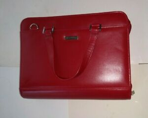 Franklin Covey Womens Planner 7 Rings Purse Planner Preowned
