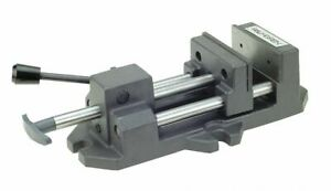 Palmgren Quick release Vise Stationary Base 6 Jaw Opening in 6 Jaw