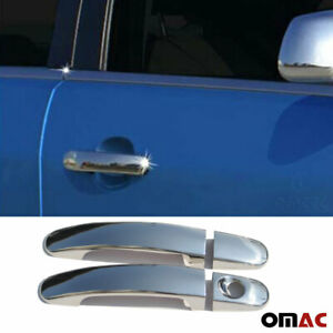 Fits Ford Focus 2005 2011 5 Dr Chrome Side Door Handle Cover Stainless 4 Pcs