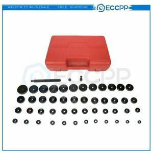 50pc Bearing Seal Driver Tool Kit 18 65mm Custom Bushing Bearing Hydraulic Press