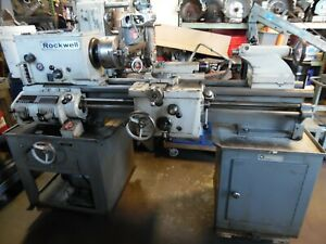 Rockwell delta 14 Metal Lathe Variable Speed Model 25 210