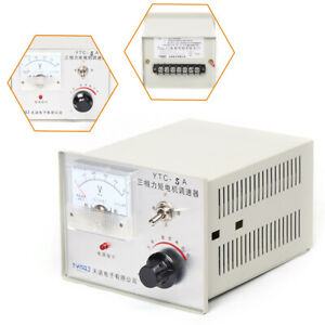 3 phase Ac Torque Motor Controller Electronic Voltage Regulator W inductive Load