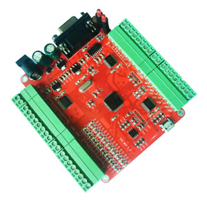 Rs232 Serial Port 12ai 4di 2do 2pwm 2ao 16bit Data Acquisition Module Card
