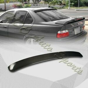 For 1992 1998 Bmw E36 Coupe 2dr Vip Carbon Fiber Rear Roof Window Spoiler Wing