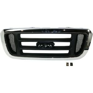 Grille For Ford Ranger 2004 2005 Fo1200455 4l5z8200faa