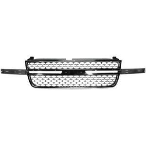 Grille For Chevy Chevrolet Silverado 1500 Truck 2500 Hd 3500 Gm1200546 12335956