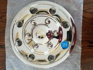 15 Stainless Steel Trailer Wheel Cover Pgq60poc 1 Of 3 Available