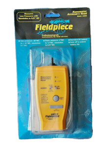 Fieldpiece Amn2 Manometer Accessory Head Model For Gas And Static Pressure New