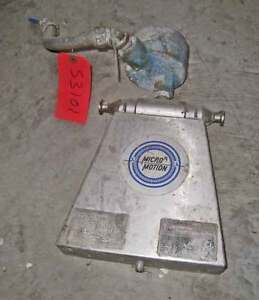 Micro Motion 1 4 Inch Mass Flow Meter Ds Series Ssl 316 Model Ds025h999su