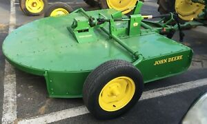 1972 Antique John Deere 407 7 gyramor Rotary Brush Hog Reconditioned