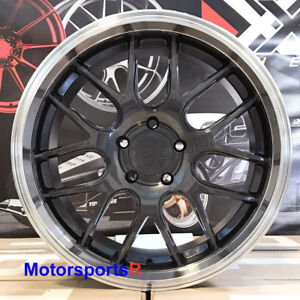 Xxr 530d 18x9 35 Graphite Machine Deep Lip Rims Wheels 5x4 5 Gunmetal Set Of 4