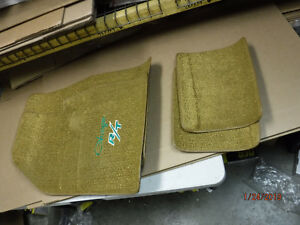 New Blem 1969 Charger R T With 4 Speed Gold Loop Floor Mats Embroidered Mopar