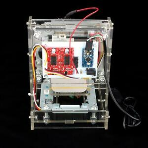 300mw Desktop Diy Marking Laser Engraver Printer Cutting Engraving Machine Usb
