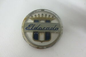 1954 1955 1956 Cadillac Eldorado Rear Seat Emblem Round Ornament Badge Crescent