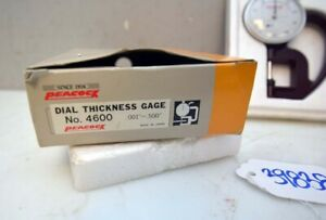 Peacock Dial Thickness Gage No 4600 inv 39838