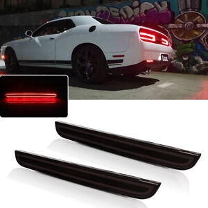 Led Brake Rear Bumper Reflector Light Tail Driving For 2015 19 Dodge Challenger