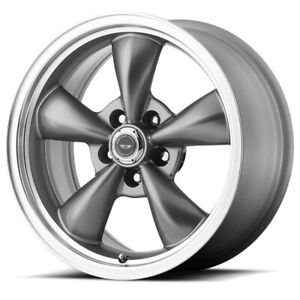 American Racing Ar105 Torq Thrust M 17x8 5x4 5 30mm Gunmetal Wheel Rim 17 Inch