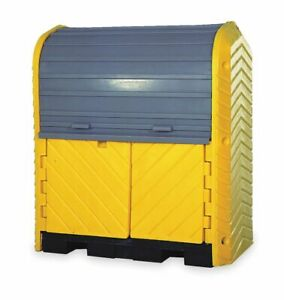 Ultratech Spill Containment Pallets Covered 66 Gal Spill Capacity 4500 Lb