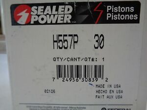 Sealed Power H557p30 Pistons Ford 302 Clevor 302 W 351c Cleveland Heads