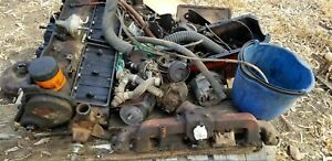 4 8l 292 Cubic Inch Straight 6 Cylinder Chevrolet Engine