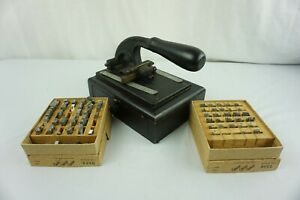 Franklin Signet Embossing Machine Stamps