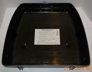 Hard Case Lid Replacement For Sears Type Writer The Electric 1 Model 161 55210