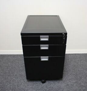 Fully Sidekick File Cabinet Black