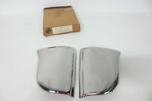 Nos 1950 1951 1952 Chrysler Gravel Shields Stone Guards Rear Fenders 4 Door Only