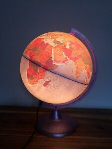 Large Nova Rico Children S Childs Purple Light Up Illuminated World Globe