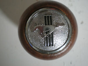 Vintage Nos Ford Mustang Wood Gear Shift Knob M12 1 25 Thread