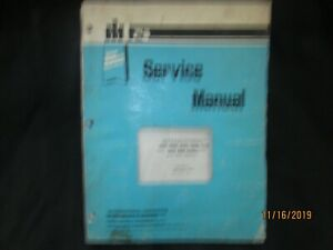 Ih International Harvester 420 425 430 435 440 And 445 Balers Service Manual