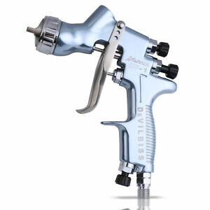 Devilbiss Professional Hvlp Air Spray Gun Hd 1 1 3 Mm Tip 600 Cc Plastic Cup