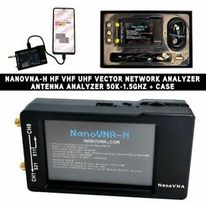 Upgraded Version 50khz 900mhz Nanovna Vector Network Analyzer Antenna Hf Vhf Uhf