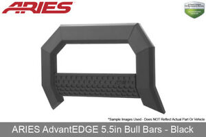 Advantedge 5 5in Bull Bar Black 2007 2018 Chevrolet gmc Silverado sierra 1500