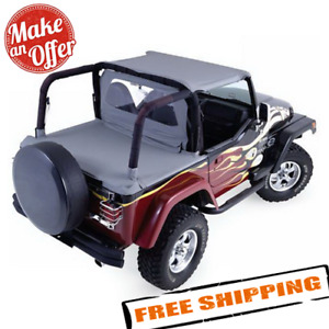Rampage 992015 Cab Top For Soft Top Half Door For 1987 1991 Jeep Wrangler Yj
