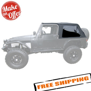 Rampage 109635 Frameless Trail Top For 2004 2006 Jeep Wrangler Lj Unlimited