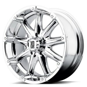20 Inch Chrome Rims Wheels Xd Series Badland Xd779 20x9 6 Lug Chevy Gmc Toyota