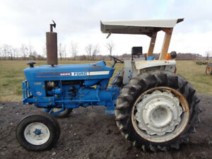 1981 Ford 6600 Tractor 2wd Blue Power Special 1 Remote 5 275 Hours