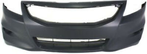 Primed Front Bumper Cover Replacement For 2011 2012 Honda Accord Coupe